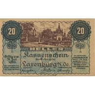 Billet, Autriche, Laxenburg, 20 Heller, Château 1920-12-31, SPL, Mehl:FS 507b - Austria