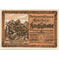 Billet, Autriche, Eisenerz, 50 Heller, Soldat 1920-12-31, SPL, Mehl:FS 169 - Austria