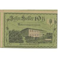 Billet, Autriche, Bodendorf, 10 Heller, Château 1921-01-31, SPL Mehl:FS 96Ia - Austria