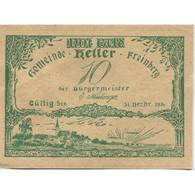 Billet, Autriche, Freinberg, 10 Heller, Paysage, 1920 SPL, Mehl:FS 211Ia - Austria