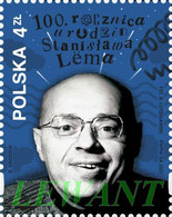2021.09.12. 100th Anniversary Of The Birth Of Stanisław Lem (b) - MNH - Nuevos