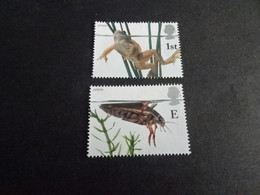 EU450  -  Stamps  MNH Great-Britain  - 2001    - Europa -   Frog And Cockroach - Otros