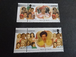 EU717A -  Set MNh  Isle Of Man - 1996 - Europa -   Famous Women - - Man (Ile De)
