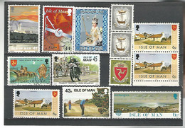 53844 ) Isle Of Man Collection - Man (Ile De)