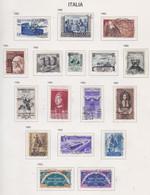 Italie N° 635 / 69 + 684 / 85 O  Les 38 Valeurs  Oblitérées,  TB - 1946-60: Used
