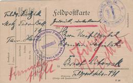 Metz 1916 > Vizefeldwebel Roman Zasilski Brest-Litowsk Unbekannt Retour Von Kommandatur Festung - Pionier Ers. Bat. 16 - Covers & Documents