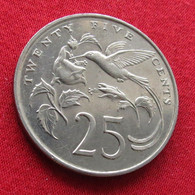 Jamaica 25 Cents 1989 KM# 49 *V1 Jamaique Jamaika Giamaica - Jamaica