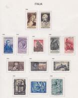 Italie N° 688 / 98 + 702 / 03 O  Les 13 Valeurs  Oblitérées,  TB - 1946-60: Used