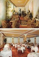 """13960"""" HOTEL BEL SOGGIORNO-SANREMO """"2 VEDUTE-VERA FOTO-CART. POST. NON SPED. - Hotels & Restaurants"""