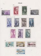 Italie N° 699 / 701 + 704 / 09A + 720 / 23 O  Les 15 Valeurs  Oblitérées,  TB - 1946-60: Used