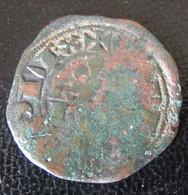 Monnaie Double Parisis Philippe IV (1285-1314) - Billon - 1285-1314 Philippe IV Le Bel
