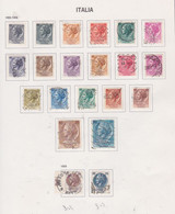 Italie N° 709B /19A + 724 / 29 + 802 / 03 O  Les 34 Valeurs  Oblitérées,  TB - 1946-60: Used