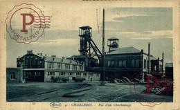 CHARLEROI VUE D UN CHARBONNAGE  METIER MINING MINA MINE - Charleroi