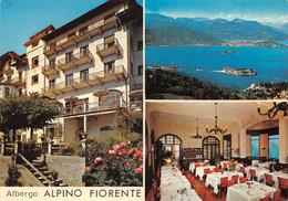 "13965"" ALBERGO ALPINO FIORENTE-GIGNESE-(VCO) "" 3 VEDUTE-VERA FOTO-CART. POST. NON SPED. - Hotels & Restaurants"