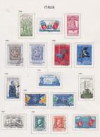 Italie N° 770 / 97 O  Série Courante.  Les 30 Valeurs  Oblitérées,  TB - 1946-60: Used
