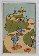 98022 Cartolina Illustrata - R. Accademia Aeronautica MAK ? 100 - VG 1940 - Humour