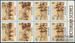 United Kingdom - Isle Of Man Hbl8 Unmounted Mint / Never Hinged 1987 Victoria - Man (Ile De)