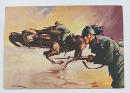 98035 Cartolina Illustrata Militari - Scuola Centrale Truppe Celeri - VG 1942 - Reggimenti
