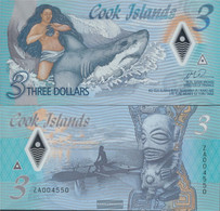 Cookinseln Pick-number: New Uncirculated 2021 3 Dollars - Cook Islands