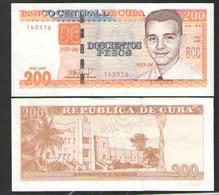 CUBA 200  PESOS    2020 UNC - Cuba