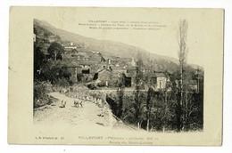 Villefort - Palhères - Altitude 810 M - Route Du Mont Lozère (porcs Sur La Route) Circulé 1912 - Villefort