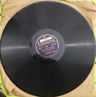78 Tr - Columbia - Edith Piaf - Les Trois Cloches - Perrine était Servante - 78 Rpm - Gramophone Records
