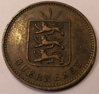 GUERNESEY  *   4 DOUBLES 1885 - Guernsey