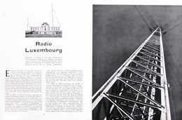 Article Papier 7 Pages RADIO LUXEMBOURG  Janvier 1948 RE P1057791 - Ohne Zuordnung