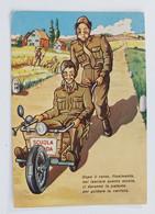 99823 Cartolina Illustrata Umoristica - Militari - Scuola Guida - VG 1975 - Humour