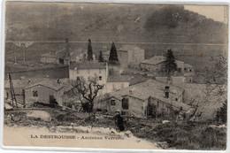 CPA 13 :  LA DESTROUSSE  - Ancienne Verrerie - Ed.Paravisini - 1915 - Industrie - Andere Gemeenten
