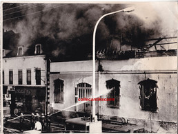 Chalon Sur Saone Incendie Rue De Belfort Sinistre De 1972  Photo De Presse Scann Recto Verso - Chalon Sur Saone