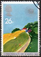 GREAT BRITAIN 1983 Commonwealth Day. 26p Temperate Farmland - Oblitérés