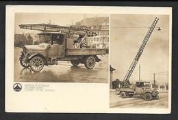 SAURER CAMION A ECHELLE N°C177 - Camions & Poids Lourds