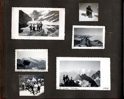 Album De 150 Photos Originales D'un Club D'Alpinistes  Annotées Avec  Lieux Et Date De 1947 à 1950 En Parfait état. - Lugares