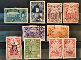 TURQUIE - 1916/1919 - 10 Valeurs (voir Détail Et Scan) - Gebraucht