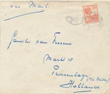 Nederlands Indië - 1927 - 12,5c Wilhelmina EF Op Cover Per Mail Van LB Dolokmerangir Naar Princenhage / Nederland - Netherlands Indies