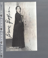 Opera - Bruna Baglioni - GESIGNEERD / AUTOGRAPHE - Autographes
