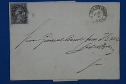 AA16 SACHSEN   ALLEMAGNE   BELLE  LETTRE    1856 LEIPZIG+ AFFRANCH. INTERESSANT - Sachsen