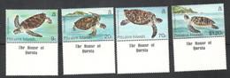 PITCAIRN ISLANDS....1986:Michel 274-77(Yvert264-7)mnh**TURTLES - Pitcairneilanden