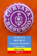 Curvata Resurgo - Trappistes Rochefort - Bière Belge  (parfait état - Pas De Trace De Décapsuleur) MEV16 - Beer