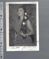 Opera - Rita Gorr - GESIGNEERD / AUTOGRAPHE - Autographes