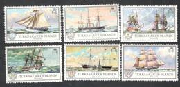 TURKS&CAICOS....1973: Michel322-7mnh** SHIPS - Turks E Caicos