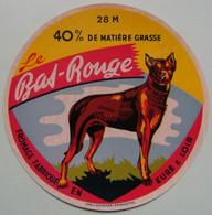 Etiquette Fromage - Le Bas-Rouge - Fromagerie Gasselin De Brou 28-M - Eure&Loire   A Voir ! - Cheese
