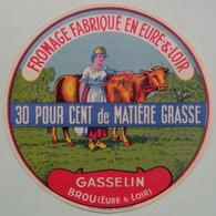Etiquette Fromage - La Vachère - Fromagerie Gasselin De Brou 28-M - Eure&Loire   A Voir ! - Cheese