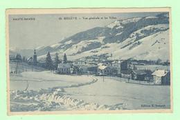 S1135 - MEGEVE - Vue Générale Et Les Villas - Megève