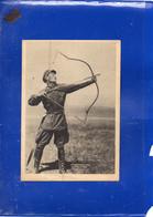 ##(DAN2109)-Original Old Mongolia Archer Postcard, Written On Back, Shipped In Cover, Rare - Mongolia