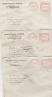 CONGO BELGE  KATANGA  6 LETTRES D'ELISABETH VILLE  1961  DERNIER LOT DISPO - 1947-60: Covers