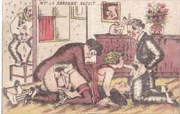 Erotiek, Porno,  Uitnodiging Voor Een Orgie, Galapagos , La Baronne De Wagner - Sin Clasificación