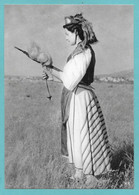 GRECIA GREEK CORFU LYCOURSI COSTUME DE PAYSANNE N°C186 - Grecia
