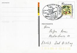 12819) BRD -  ✉ PSo 177 I Codiert, So-⨀ 45131 Essen 119 Vom 04.04.02 - Auf Den Weg Zur NAJUBRIA, Hexe - Cartoline - Usati